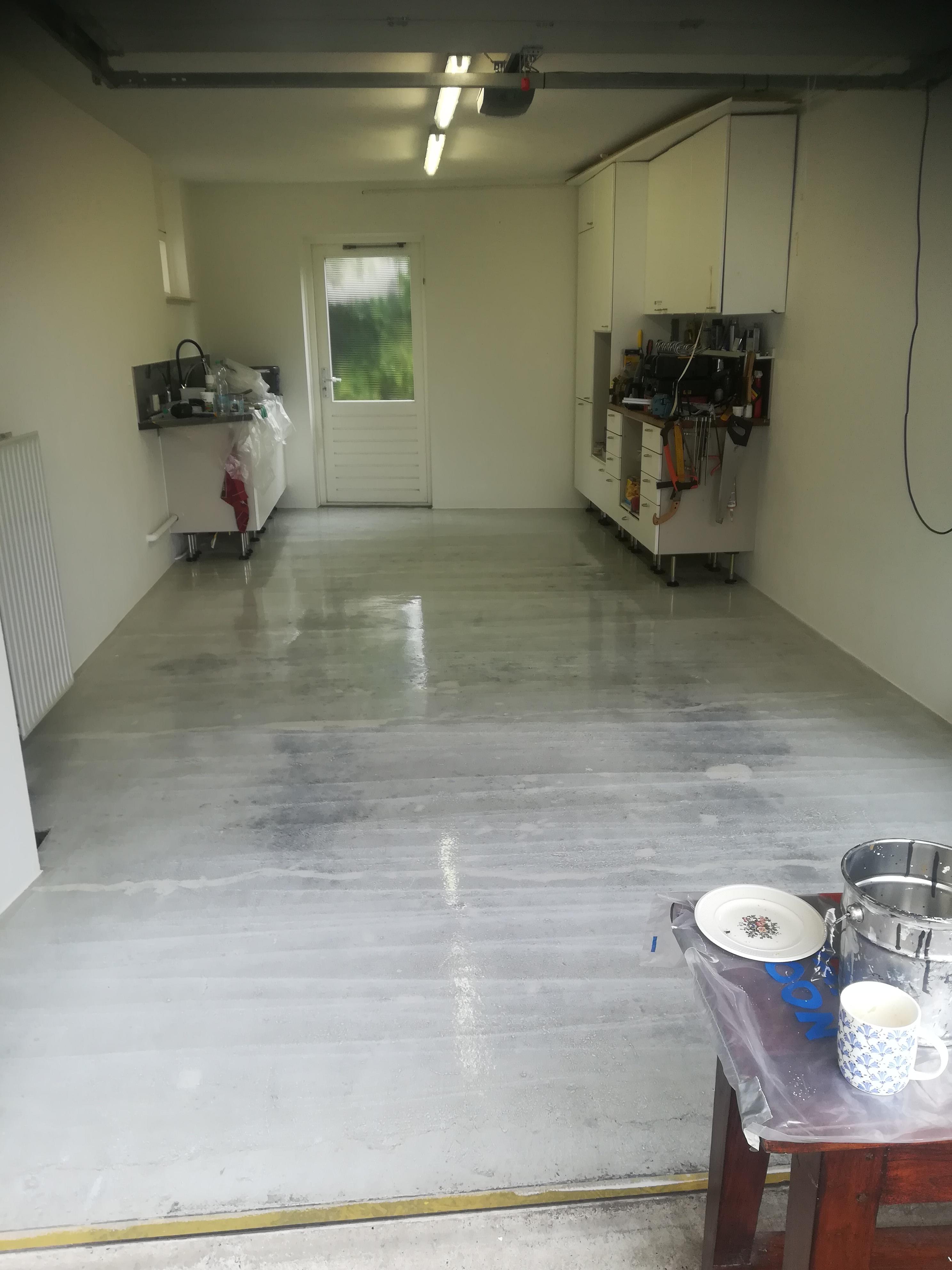 garagevloer voor vloercoat